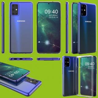 Für Samsung Galaxy S20 Plus G985F Silikon Transparent Handy Tasche Hülle Etuis