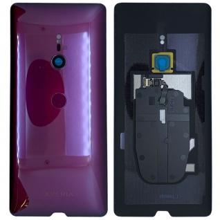 Sony Xperia XZ3 H8416 H9436 H9493 1316-4766 Akkudeckel Akku Deckel Batterie Cover Rot - Vorschau 1