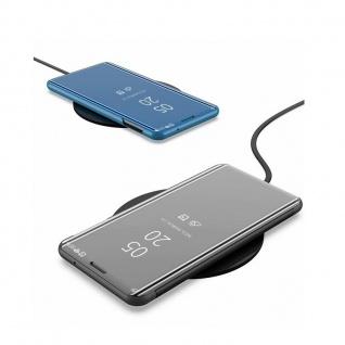 Für Samsung Galaxy A20e Clear View Smart Cover Lila Etuis Tasche Hülle Wake UP - Vorschau 2