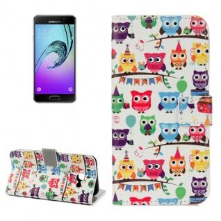 Schutzhülle Muster 25 für Samsung Galaxy A3 A320F 2017 Tasche Cover Case Hülle