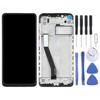 Xiaomi Redmi Note 9 4G Display Einheit Rahmen Touch Ersatzteil Reparatur Schwarz