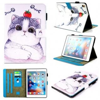 Schutzhülle Motiv 72 Tasche für NEW Apple iPad 9.7 2017 Case Etui Cover Design