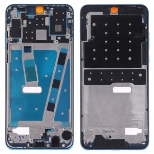 Mittelrahmen für Huawei P30 Lite Blau Front Housing Frame Bezel Plate LCD Ersatz