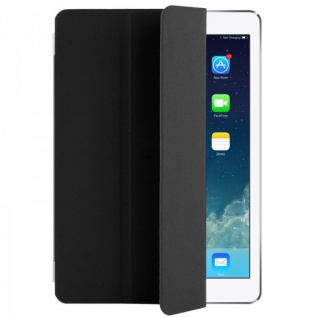Smart Cover Schwarz für Apple iPad Air 2 Hülle Case Tasche Schutz Etui Zubehör