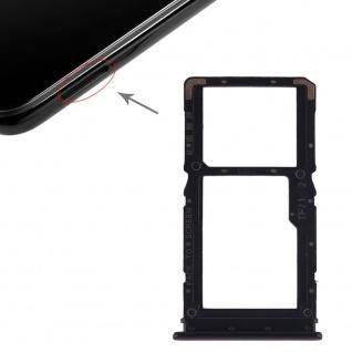 Sim für Xiaomi Redmi Note 7 / Pro Schwarz Karten Halter Schlitten Ersatzteil Neu
