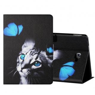 Für Samsung Galaxy Tab A 10.1 2016 Motiv 3 Tablet Tasche Kunst Leder Hülle Etuis