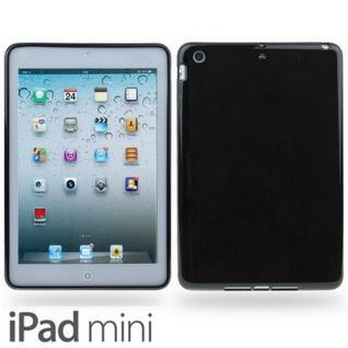 Design Backcover Schutz Silikon Hülle für Apple iPad Mini + Displayschutzfolie