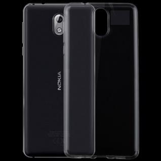 Silikoncase Transparent Ultradünn Hülle für Nokia 1 Plus Tasche Cover Etuis Neu