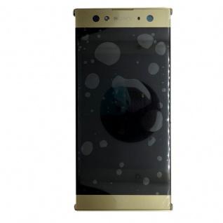Sony Display LCD Komplett mit Rahmen für Xperia XA2 Ultra Gold Ersatz Reparatur - Vorschau 3