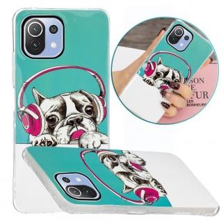 Für Xiaomi Mi 11 Lite Silikon Case TPU Motiv 3 Schutz Hülle Cover Tasche Etuis