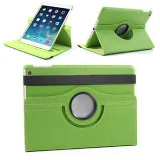 Design Tasche 360 Grad Rotation Case Zubehör für Apple iPad Air 2 Neu grün