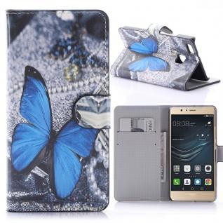 Schutzhülle Muster 54 für Huawei P9 Lite Bookcover Tasche Case Hülle Wallet Etui