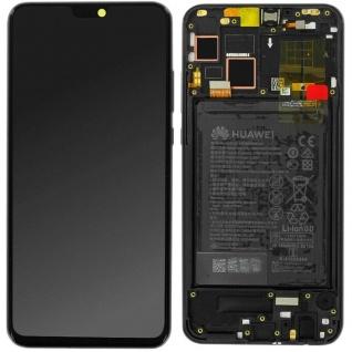 Huawei Display LCD Einheit + Rahmen für Honor 8X Service Pack 02352DWX Schwarz