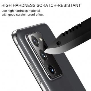 0, 2 mm H9 2.5D Hart Glas Rückseite Kamera Linse für Samsung Galaxy Note 20 Ultra