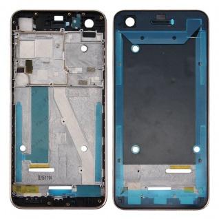 Gehäuse Rahmen Mittelrahmen Deckel für HTC Desire 10 Pro Schwarz Reparatur Neu