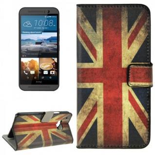 Schutzhülle Muster 9 für HTC One 3 M9 2015 Tasche Cover Case Hülle Etui Schutz
