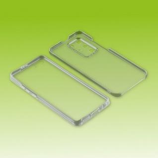 Für Huawei P40 Pro Handy Tasche Transparent beidseitig Hülle Cover Etuis Neu