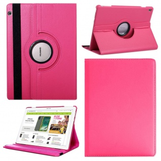 Für Apple iPad Pro 11.0 Zoll 2018 Pink 360 Grad Hülle Etui Tasche Kunstleder Neu