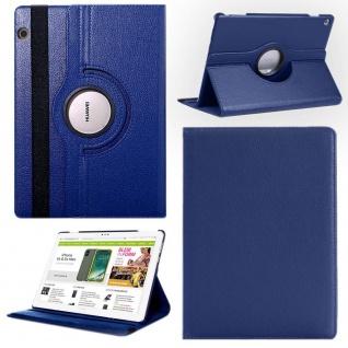 Für Apple iPad Pro 12.9 2018 3. Gen Blau 360 Grad Hülle Cover Tasche Kunstleder