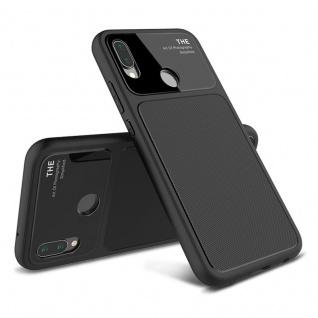 Design Cover Schwarz für Huawei P20 Lite TPU Silikon Schutz Tasche Hülle Case