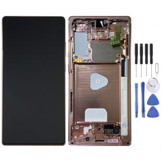 Samsung Display LCD Kompletteinheit für Galaxy Note 20 GH82-23495B Bronze
