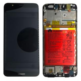 Huawei Display LCD Rahmen für P Smart Service Pack 02351SVJ Schwarz Reparatur