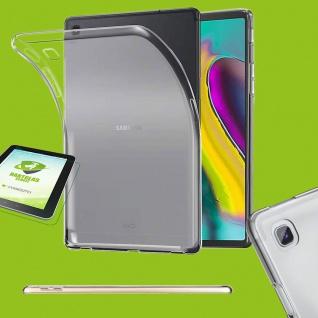 Für Samsung Galaxy Tab S5e 10.5 T720F Transparent Hülle Tasche Cover + H9 Glas