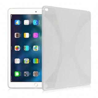 Schutzhülle Silikon X-Line Transparent Hülle für Apple iPad Pro 9.7 Zoll Tasche