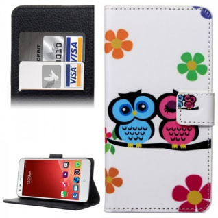 Schutzhülle Muster 43 für ZTE Blade S6 Bookcover Tasche Hülle Wallet Case Cover