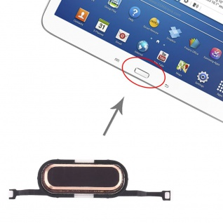 Home Key für Samsung Galaxy Tab 3 10.1 P5200/P5210 Gold Button Taste Ersatzteil