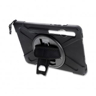 4smarts Rugged Tablet Tasche Grip für Samsung Galaxy Tab S6 Schwarz Etuis Hülle