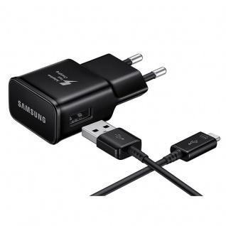 Samsung EP-TA20EBE EU USB 3.0 Ladegerät USB Typ-C Typ C Datenkabel Schwarz 15W