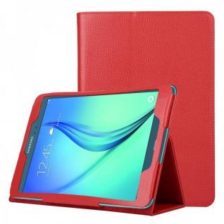 Schutzhülle Rot Tasche für Samsung Galaxy Tab A 9.7 T555N T550 Hülle Case Schutz