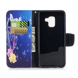 Tasche Wallet Premium Motiv 29 für Samsung Galaxy A8 2018 A530F Hülle Case Etui - Vorschau 5