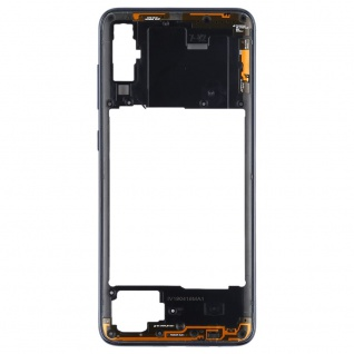 Back Housing Frame für Samsung Galaxy A70 Schwarz Bezel Plate Ersatz Reparatur - Vorschau 2