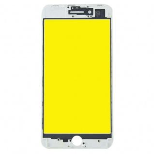 Display Glas für Apple iPhone 8 Plus 5.5 LCD Displayglas Rahmen OCA Kleber Weiß - Vorschau 2