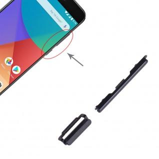 Power Volume Button Schwarz für Xiaomi Mi 5X / A1 Lautstärke On Off Ersatzteil