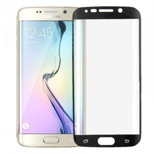 Hybrid TPU gebogene Panzerfolie Schwarz Folie für Samsung Galaxy S6 Edge G925 F