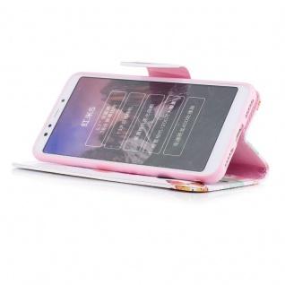 Für Huawei P Smart Plus Kunstleder Tasche Book Motiv 39 Schutz Hülle Case Cover - Vorschau 3