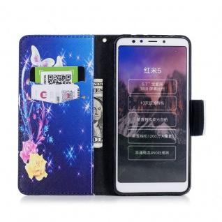 Tasche Wallet Book Cover Motiv 40 für Xiaomi Redmi 5 Hülle Case Etui Schutz Neu - Vorschau 5