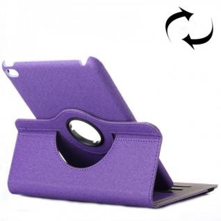 Deluxe Schutzhülle 360 Grad Lila Tasche für Apple iPad Mini 4 7.9 Zoll Hülle Neu