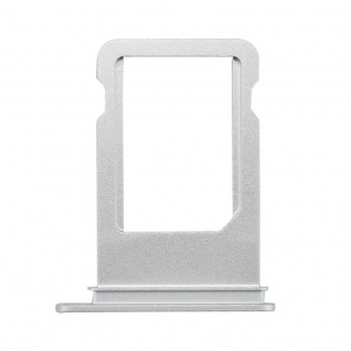 Nano Sim Karten Halter Adapter Sim Card Tray für Apple iPhone 7 & 7 Plus Silber