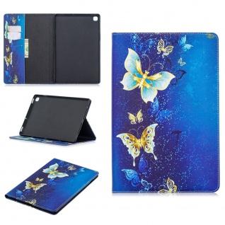 Für Samsung Galaxy Tab S7 Motiv 63 Schutz Tablet Tasche Kunst Leder Hülle Etuis