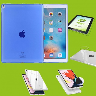 Für Apple iPad Pro 11.0 Zoll 2018 Blau Hülle Tasche Cover + H9 Hart Glas Case