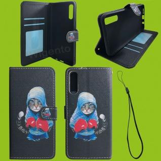 Xiaomi Redmi Note 9S/9 Pro Kunst-Leder Handy Tasche Motiv 54 Hülle Case Cover