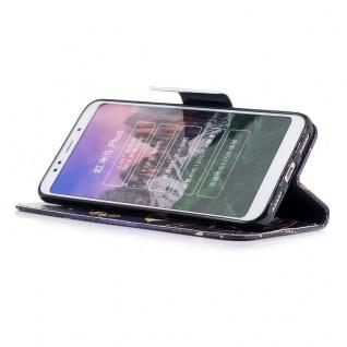 Für Huawei Y6 2018 Kunstleder Tasche Wallet Motiv 32 Schutz Hülle Case Cover - Vorschau 2