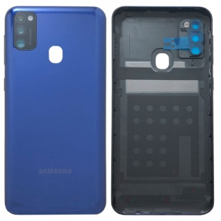 Samsung Akkudeckel Akku Deckel Batterie Cover für Galaxy M21 M215F Blau Neu