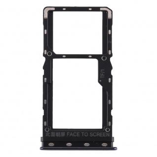 Sim Card Tray für Xiaomi Mi A3 Schwarz Karten Halter Schlitten Ersatzteil Ersatz