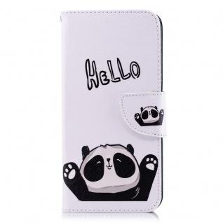 Tasche Wallet Book Muster Motiv 37 für Smartphones Schutz Hülle Case Cover Etui - Vorschau 2