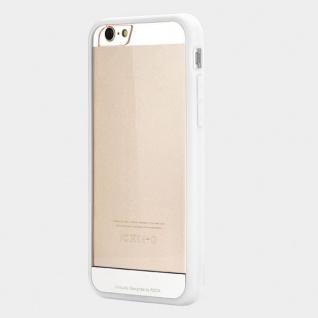 Original Rock Hybrid Bumper Faceplate Weiss für Apple iPhone 6 Plus 5.5 Case Neu